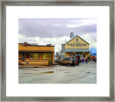 Fish House Framed Print