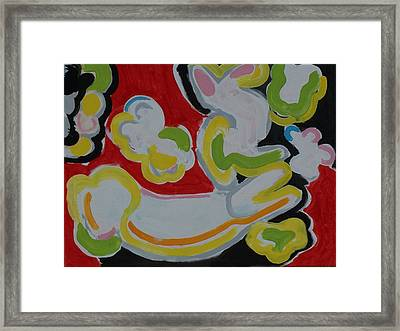 Fish Framed Print by Jay Manne-Crusoe