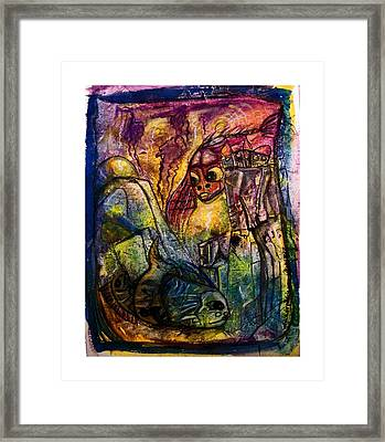 Fish Kritters Framed Print by Mimulux patricia no No
