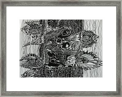 Fish River Framed Print by Min Wang