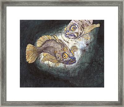 Fish Tales Framed Print by Shari Carlson