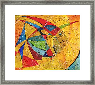 Fish V Framed Print