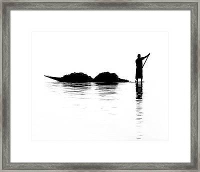 Fisherman Framed Print by Kate McKenna