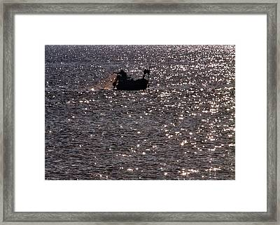 Fisherman Framed Print