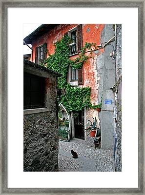 Fisherman's Isle Italy Framed Print by Peter Tellone