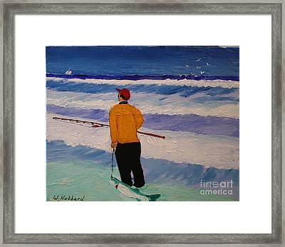 Fishermans Luck Framed Print