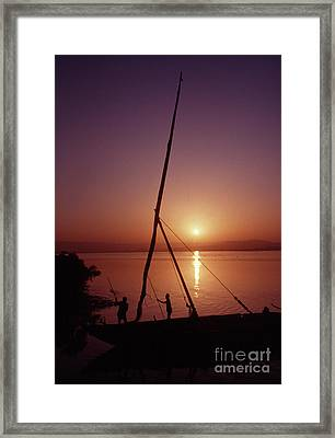 Framed Print featuring the photograph Fishermen by Vilas Malankar