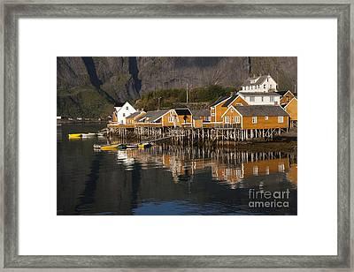 Fishermen's Village Sakrisoy  Framed Print