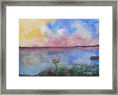 Fishers Of Men Framed Print by Barbara McNeil