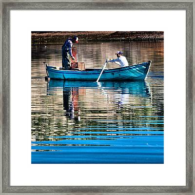 Fishing - 14 Framed Print by Okan YILMAZ