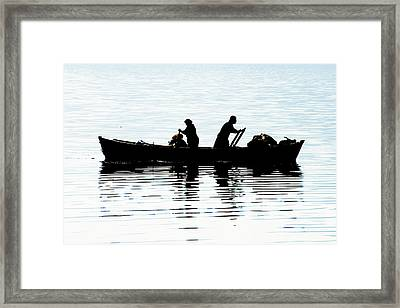 Fishing - 15 Framed Print by Okan YILMAZ