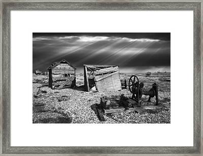 Fishing Boat Graveyard 4 Framed Print