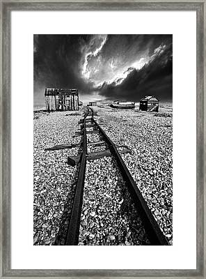 Fishing Boat Graveyard 6 Framed Print