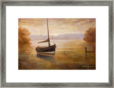 Fishing Boat Framed Print by Jonathan Howe