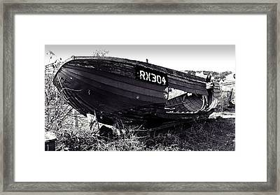 Fishing Boat Wreck Framed Print by Sharon Lisa Clarke