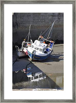 Fishing Boats Framed Print by Charlotte May-Photography