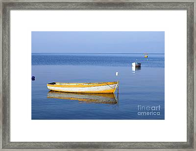 Fishing Boats Framed Print by Marija Stojkovic