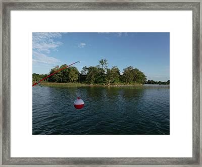 Fishing Island Framed Print