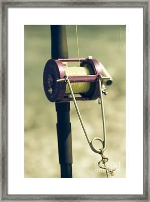 fishing Kaupo Framed Print by Sharon Mau