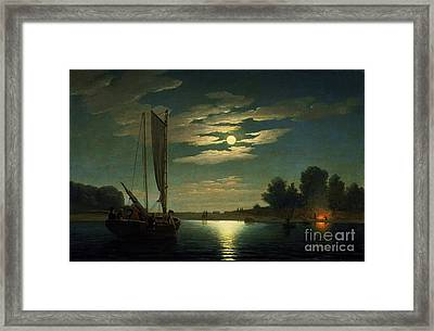 Fishing Party Framed Print