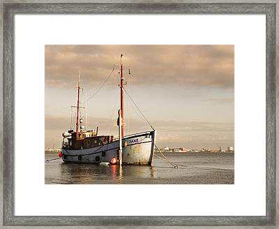 Framed Print featuring the photograph Fishing Trawler by David Harding