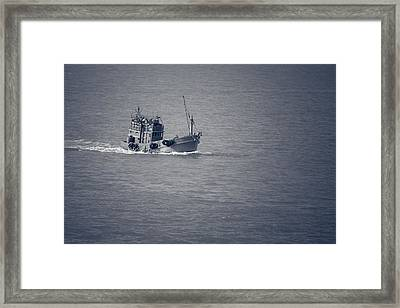 Fishing Vessel Framed Print