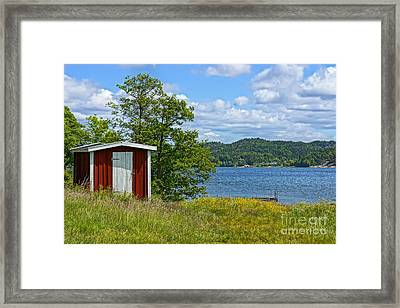 Fishing Waters Framed Print
