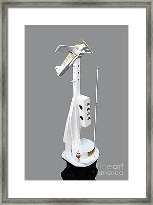 Fishing With Kurt Schwitters Framed Print by Bill Thomson