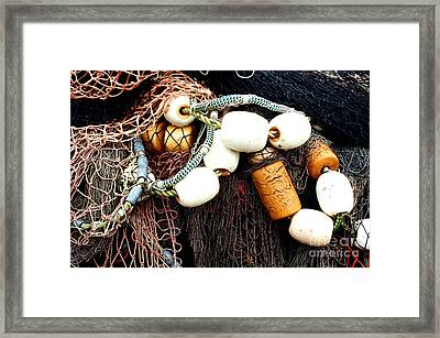 Waiting For Work Framed Print by Frank Townsley