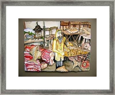 Fishy Stuff Framed Print by Laurel Fredericks