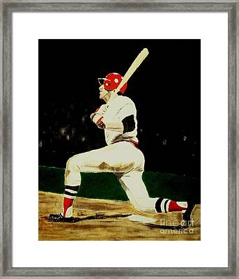 Fisk Framed Print by Ralph LeCompte