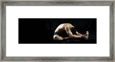 Fit To Fight 2 Framed Print