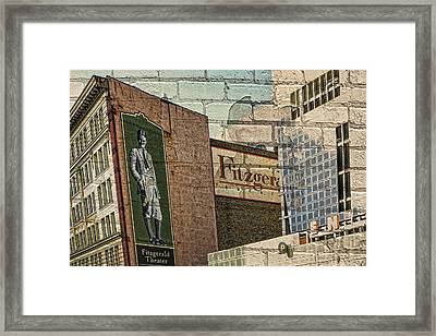 Fitzgerald Theater St. Paul Minnesota Framed Print by Susan Stone