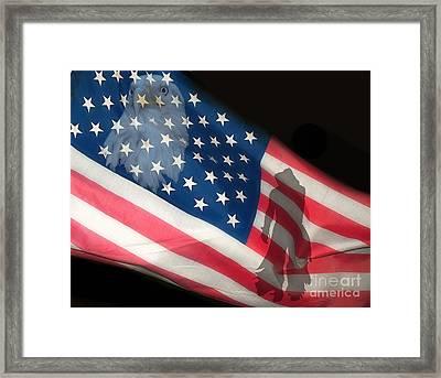 Flag IIi Framed Print by Billie-Jo Miller