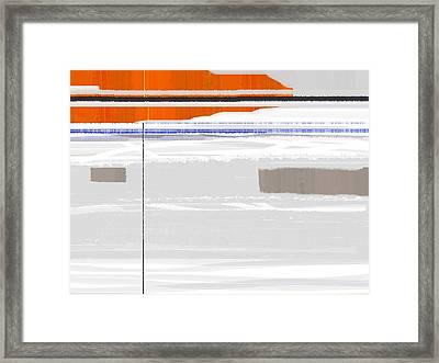 Flag Framed Print by Naxart Studio