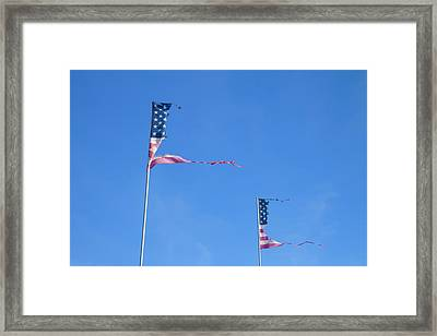 Flags Framed Print by Phil Hill