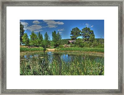 Framed Print featuring the photograph Flagstaff by Tam Ryan
