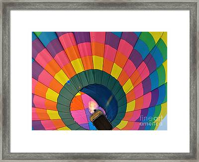 Flame On Framed Print by Ginger Harris