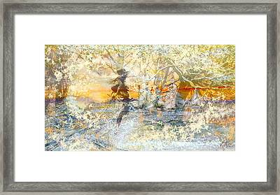 Flame Within  Framed Print