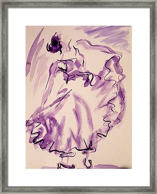 Flamenco Dancer 11 Framed Print