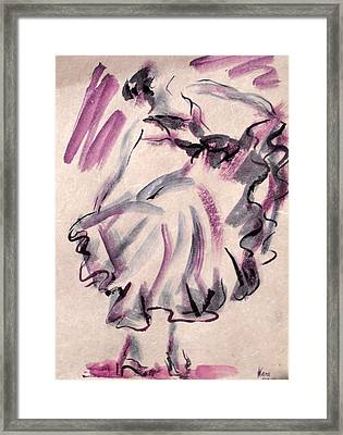 Flamenco Dancer 12 Framed Print