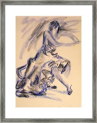 Flamenco Dancer 3 Framed Print