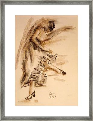 Flamenco Dancer 5 Framed Print