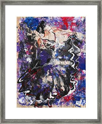 Flamenco Dancer 7 Framed Print