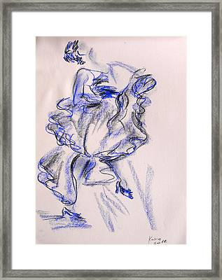 Flamenco Dancer 9 Framed Print