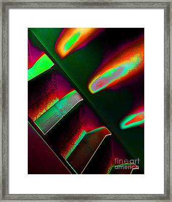 Flames One Framed Print by Adriano Pecchio