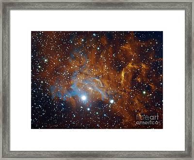 Flaming Star Nebula In Auriga Framed Print
