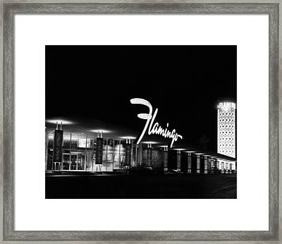 Flamingo Hotel, Las Vegas, Nevada Framed Print