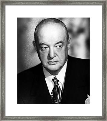 Flamingo Road, Sydney Greenstreet, 1949 Framed Print