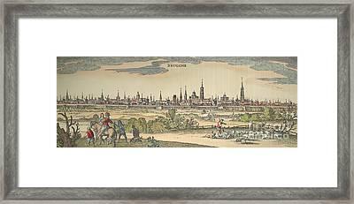 Flanders: Bruges, 1720 Framed Print by Granger
